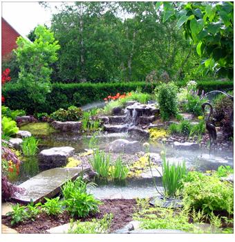 jardins d 39 eau bg qu bec am nagement paysager. Black Bedroom Furniture Sets. Home Design Ideas