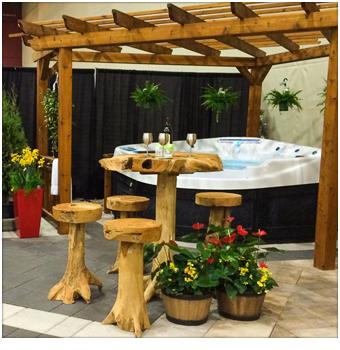 Salon Cours & Jardins de Québec BG aménagement paysagiste